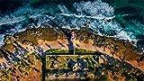 CZYSKY Rompecabezas De 1000 Piezas, Faro De Itapuã En El Salvador, Bahía, Brasil, Puzzle Juguete De Madera Decoración De Interiores