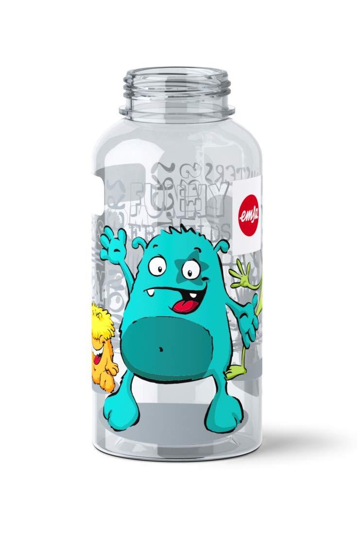 Emsa 518123 - Botella hermética con diseño de Monstruo, Capacidad ...