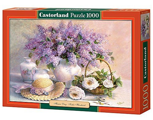 copy of Flower Day, Trisha Hardwick, 1000 Piece by Castorland Puzzles by Castorland