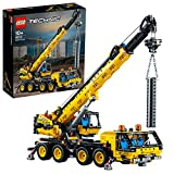 LEGO 42108 Technic Mobile Crane Truck Toy, Construction Vehicles Building Set