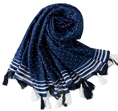 BrillaBenny sjaal PASHMINA POIS DACOLLO DONNA sjaal sjaal sjaal Scarf Woman luxe polka dots