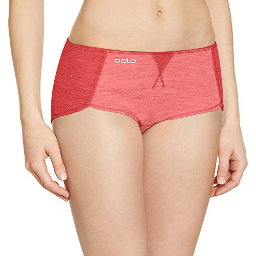 Odlo Damen Unterhose Panty Revolution TW Light, Lollipop Melange, XL