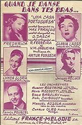 Quand je danse dans tes bras (une casa portuguesa) - Gloria Lasso, Frederica, Lynda Gloria, Jacques Helian, Franck Pourcel