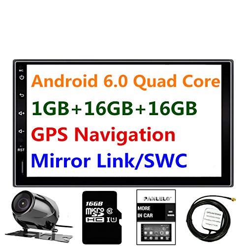 Car Stereo Android 6.0 Panlelo PA09YZ 1GB RAM 16GB ROM Rear view...