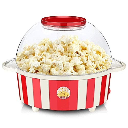 Purchase 850W Electric Theater Style Party Popcorn Maker, Retro Healthy and Fat-Free, Removable Larg...