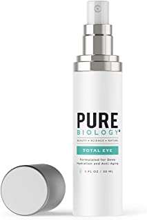 Premium Total Eye Cream Serum with Vitamin C + E, Hyaluronic Acid & Anti Aging..