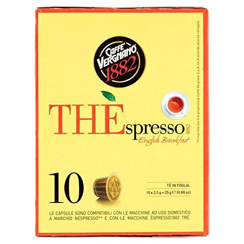 Caffè Vergnano 1882 THÈspresso1882 English Breakfast - Compatibili Nespresso