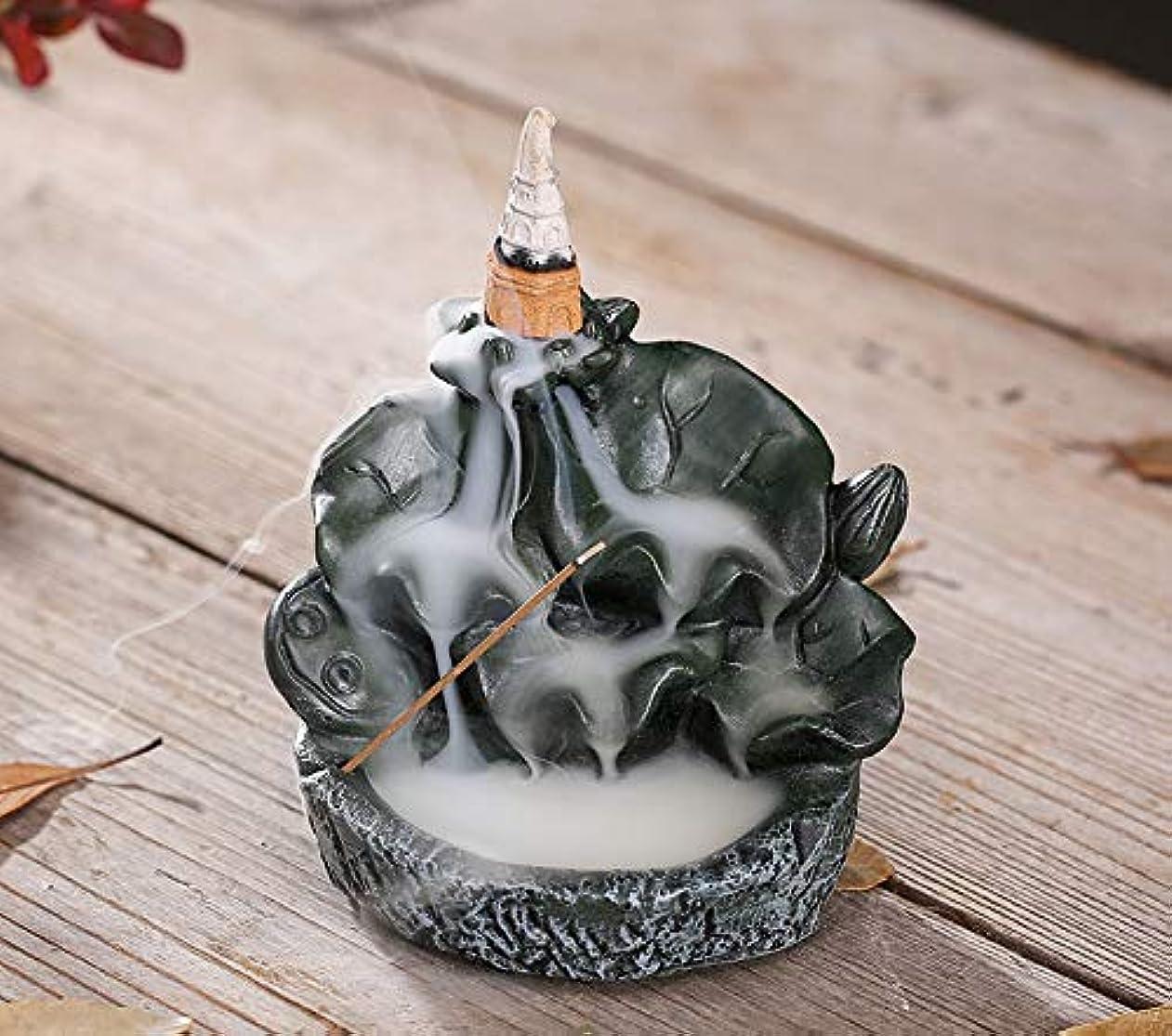 ペナルティシンカンレシピPHILOGOD香炉ロータススタイリング陶器逆流香炉線香香立て仏壇用香置物/香皿