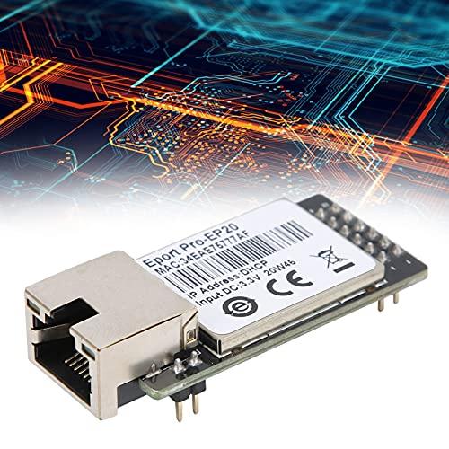Módulo de serie a Ethernet, puerto de red TTL Módulo de red TTL de conversión de serie a 10 / 100M Ethernet con memoria flash de 16 MB y SRAM de 32 MB para sistema Linux