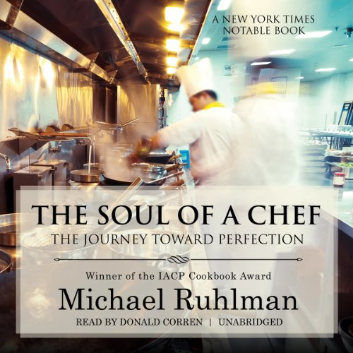 The Soul of a Chef audiobook cover art