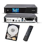 VU + Uno 4K se 1x DVB-S2fbc-10Twin Tuner 1TB HDD Linux Receptor UHD 2160p