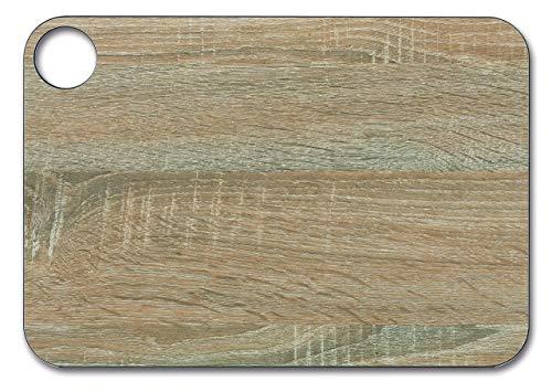 Arcos Tablas, Tabla de Cocina Tabla para Cortar, Fibra de Celulosa y Resina 33 x 23 cm y 6, 5 mm de espesor, Color Marrón