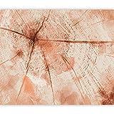 murando Fototapete Abstrakt 3D Effekt 50x35 cm Vlies Tapeten Wandtapete XXL Moderne Wanddeko Design...