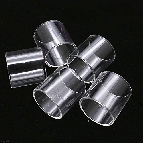 Pang-qingtian 5 UNIDS Reemplazo de Tubo de Vidrio Adecuado para EHPRO Bachelor X/Ajuste para Bachelor II 2 / Ajuste para Bachelor Nano RTA Pyrex Glass Tank (tamaño : Fit for Bachelor II RTA 4ml)