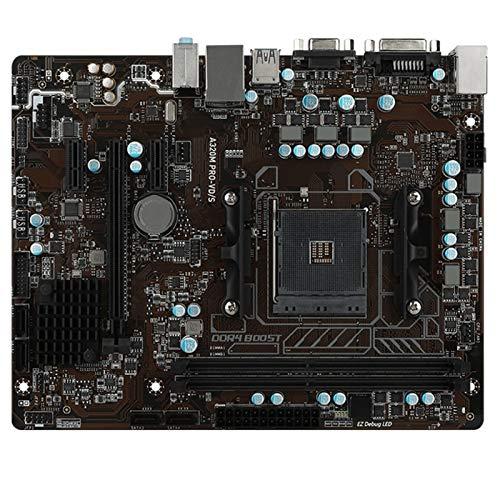 Placa Base de computadora Ajuste para Fit For MSI A320M Pro-Vd/S Desktop DDR4 M.2 SATA3 USB3.0 AM4 A320 DDR4 Micro ATX Placa Base Placa Base de computadora Profesional