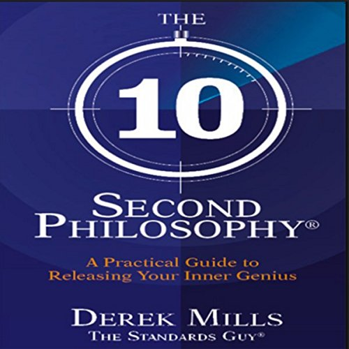 The 10-Second Philosophy audiobook cover art