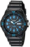Casio Unisex MRW200H-2BV Neo-Display Black Watch with Resin Band...