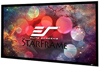Elite Screens Star Frame Series, 100-INCH 16:9, Fixed Frame Home Movie Theater Projector/Projection Screen, 8K / 4K Ultra HD 3D Ready, SF100HW2