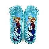 [コマリョー] 7350 Disney アナと雪の女王 ガラスの靴 15~19cm (18cm)