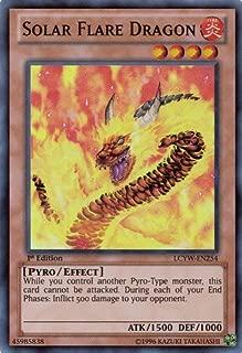 Yu-Gi-Oh! - Solar Flare Dragon (LCYW-EN254) - Legendary Collection 3: Yugi's World - Unlimited Edition - Super Rare
