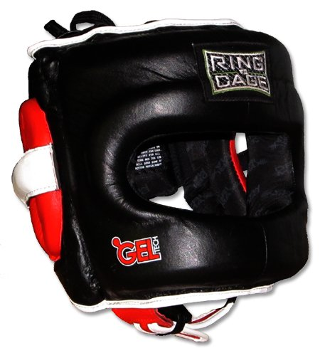 Ring to Cage Deluxe Full Face GelTech Sparring Headgear for Boxing, Muay Thai, MMA, Kickboxing...