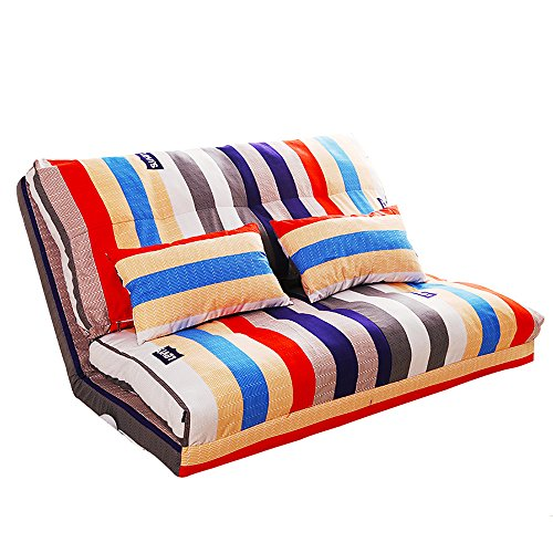 ZHY Divano Divano Lazy, Sedia Singola Sedia Divano, Divano Divano Doppio Camera, Lazy Bed Folding (Colore : 1#, Dimensioni : 120 * 65 * 61cm)