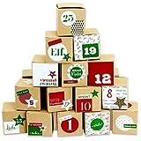 Calendario de Adviento DIY para rellenar – 24 cajas para m