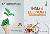 IAS COMBO Indian Economy By Ramsh Singh 11th Edition And ENVIORNMENT By Shankar IAS Academy,For Civil Services, UPSC,IAS,IPS EXAM English Medium,(Ramesh Singh, ENVIORNMENT By Shankar IAS Academy)