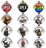 APEX Party Favors - 12 Apex Legend Pendants, Great Video Game Party Supplies, Perfect Gift for Friends and Boys Birthday Parties, Ideal Boys Birthday Party Supply as Party Favors