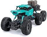 Nixi888 6 WD 2,4 G a distancia para camión, mando a distancia con baterías del Crawler recargables de alta velocidad para vehículos todoterreno, camión o coche con recargable para niños, adultos