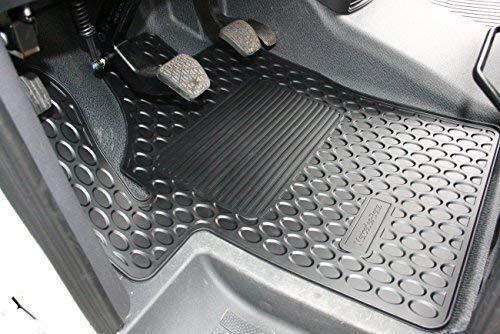 Mercedes-Benz Original Kit Conjunto de 2 Piezas Goma Alfombr