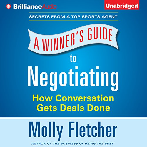 A Winner's Guide to Negotiating audiobook cover art