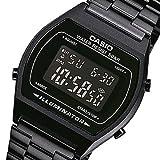 [カシオ]B-640WB-1B/B640WB-1B ベーシック デジタル メタルベルト オールブラック ユニセックスウォッチ 腕時計 [並行輸入品]