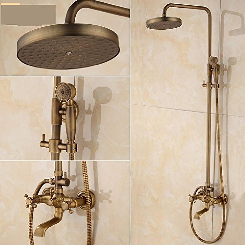 Zxyantique Shower Shower Shower, All Accessories in Copper
