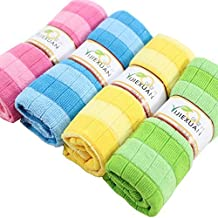 Ywoow Soft Cotton Car Cloth Towel House Cleaning Practical Kitchen Cleaning Wiping