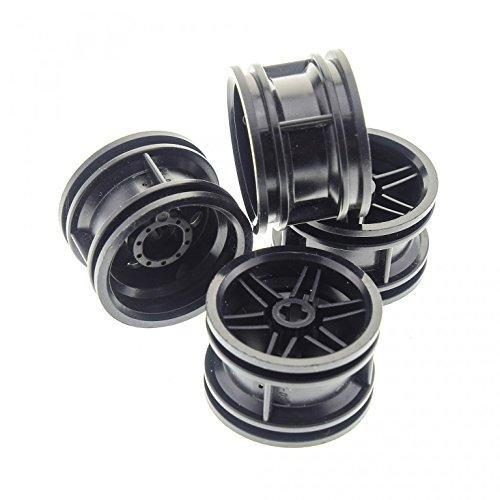 4 x Lego Technic Felge schwarz Solo Räder Rad Technik 30.4mm D. x 20mm Racer 4299389 56145