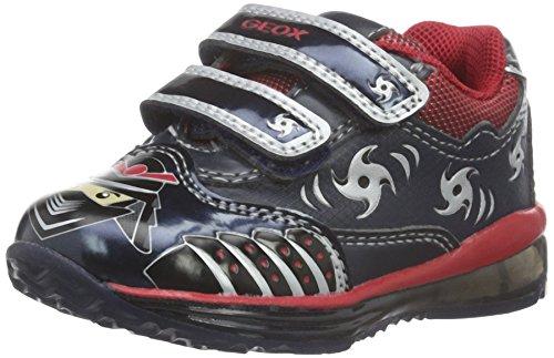 Geox Baby Jungen B TODO BOY C Sneaker, Blau (NAVY/REDC0735), 24 EU