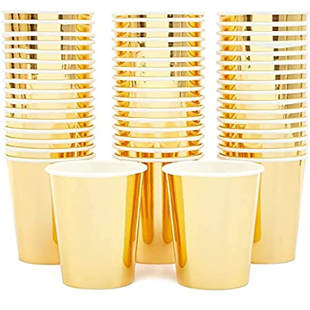 shiny gold cups