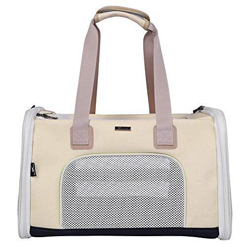 X&MM Pet Bag - Katzen-Tasche Große Fressnapf Outing Tragetasche Hunderucksack Katze Handtasche Multi-Purpose Pet Bag,C