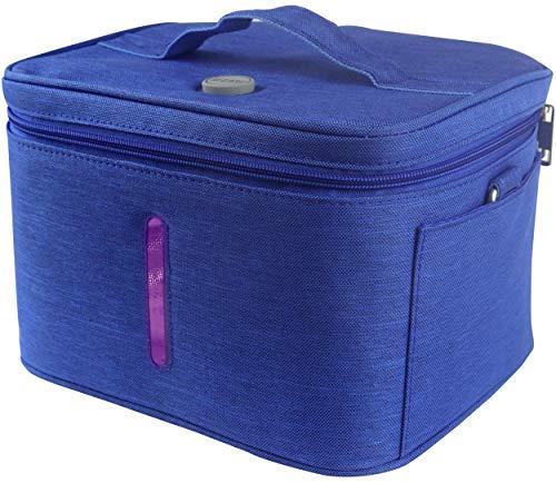 JJ CARE [Upgraded] UV Sterilizer Bag with Free Power Bank, Multi-purpose UV Light Sanitizer Bag & UV Disinfection Bag, Portable UVC Bag Sterilizer For Cell Phone, Wallet, Baby Items & More!