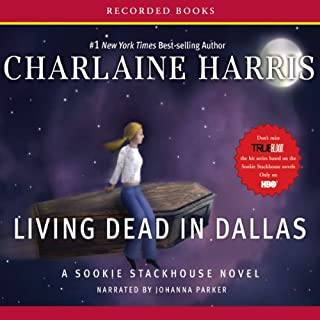 Living Dead in Dallas     Sookie Stackhouse Southern Vampire Mystery #2              Written by:                                                                                                                                 Charlaine Harris                               Narrated by:                                                                                                                                 Johanna Parker                      Length: 8 hrs and 52 mins     12 ratings     Overall 4.8