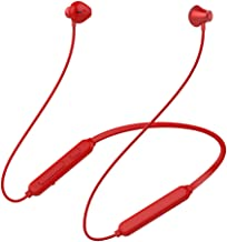 Bluetooth Headphones,JLHY Waterproof Wireless Sport Earphones Bluetooth 5.0, HD Stereo Sweatproof Earbuds w/Mic, Noise Cancelling Headset for Workout, Running,Gym Jogging (Red)