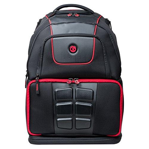 Sixpack SIX PACK VoyagerBackpack na5 posiłków - Mochila de viaje, color negro y rojo