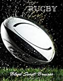 Rugby Blood Sweat Bruises: Rugby Journal for sport Notebook 120 pages 8.5x11 inches | Gift for rugby players men and woman| ball sport book