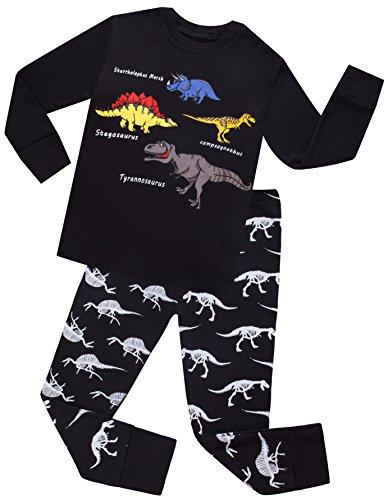 Boys Dinosaurs Pajamas Kids Cotton PJs Children Sleepwear Toddler Clothes Size 5 Years