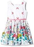 Happy Girls Mädchen Kleid mit Print, Geblümt, Gr. 116, Mehrfarbig (pink 37)