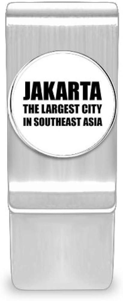 Superlatite Jakarta Largest City Southeast Asia Wallet Card Clip 55% OFF Cash Money
