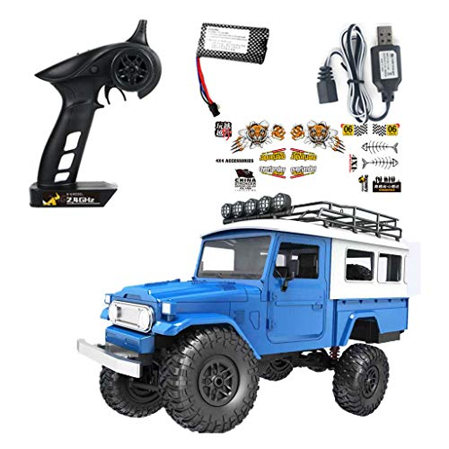 Lowral RC coche modelo juguete, escala 1/12 4WD 2.4GHz control remoto, vehículo todoterreno eléctrico