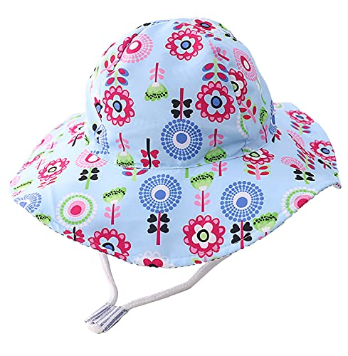 Cutemile Baby Mädchen Sonnenhut Cool Atmungsaktiv Mesh-Futter Strand Eimer Hut Sonnenschutz Junge Fischerhut