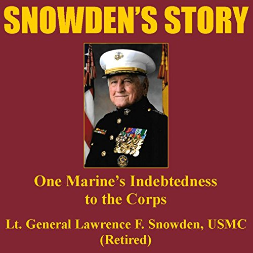 Snowden's Story audiobook cover art